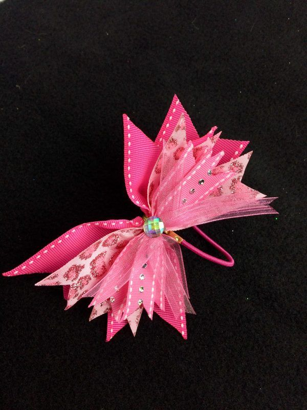spiky hair bow with Bowdabra - video tutorial