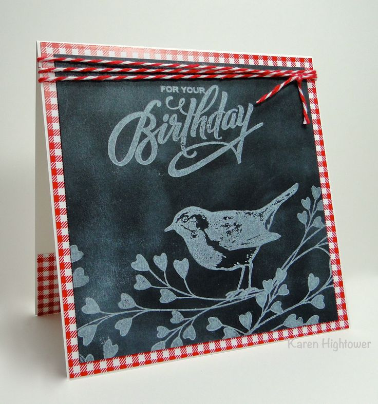 28 best cards birthday blessings gina k images on pinterest i loved the look of the chalk board technique so i decided to use it to create this card it is a gina k designs pure luxury cs heavy base white black bookmarktalkfo Images