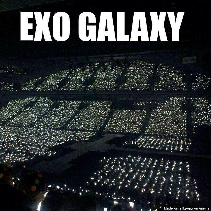EXO GALAXY OCEAN   Exo   Pinterest   Beautiful, The o'jays ...