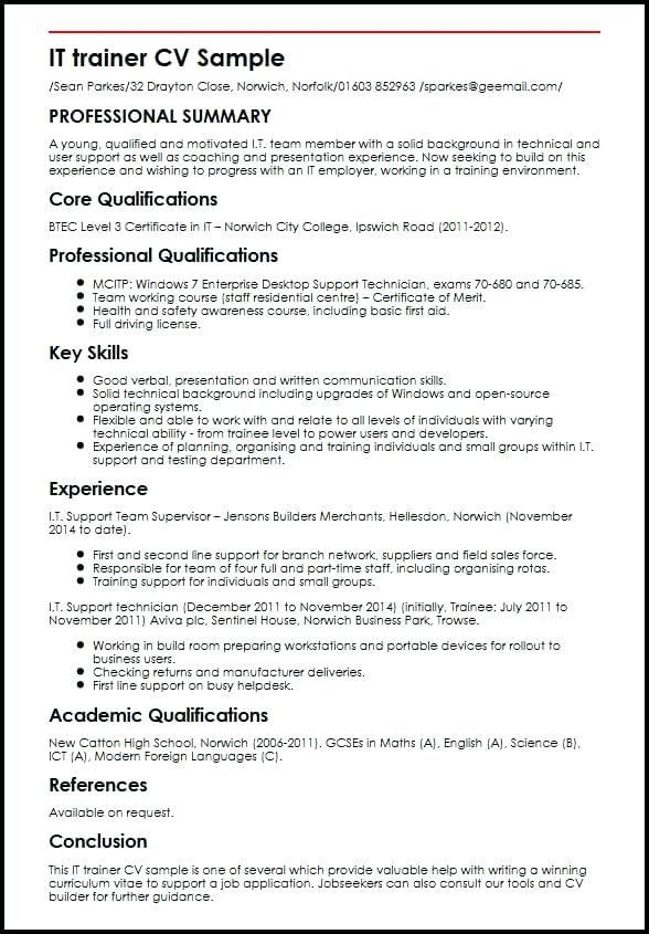 Resume Examples By Industry And Job Title Resume Examples Cv