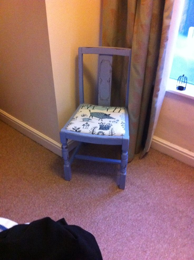 Up cycled chair done at boathouse