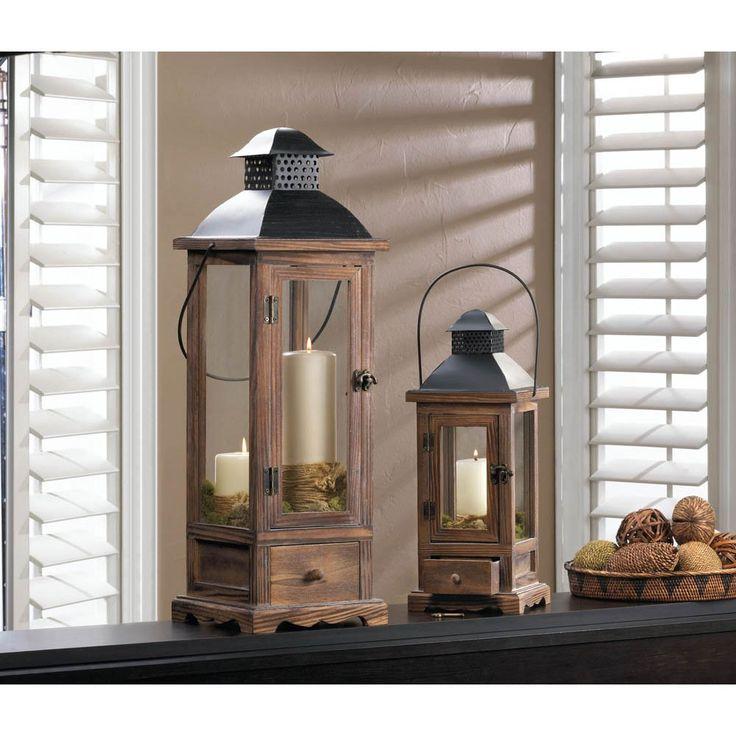 Mount Vernon Wooden Lantern Small