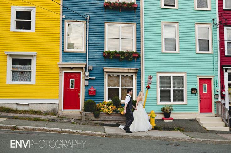 St. John's, Newfoundland Jellybean Row