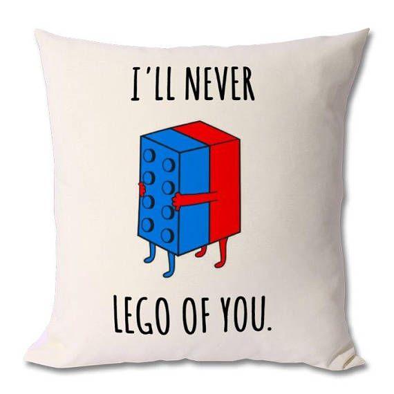 lego love pun,lego cushion,lego romantic gift,valentines gift,valentines day,gift for him,gift for her,boyfriend,husband,girlfriend,wife