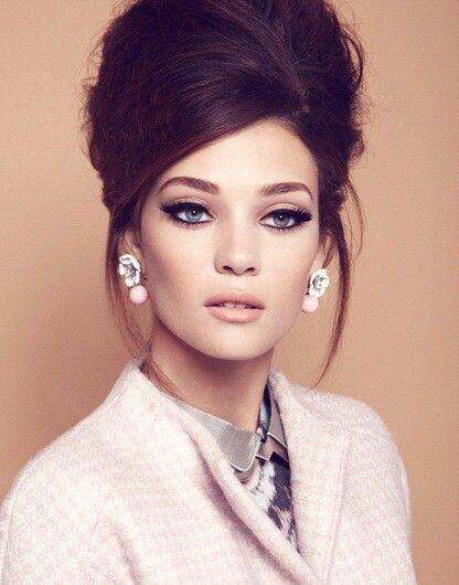 60s makeup gorgeous