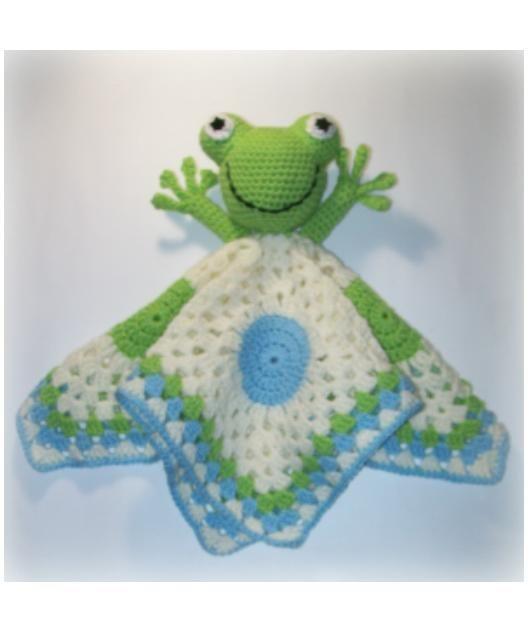 Frog Lovey Crochet Pattern by Designs by Sha http://www.designsbysha.com