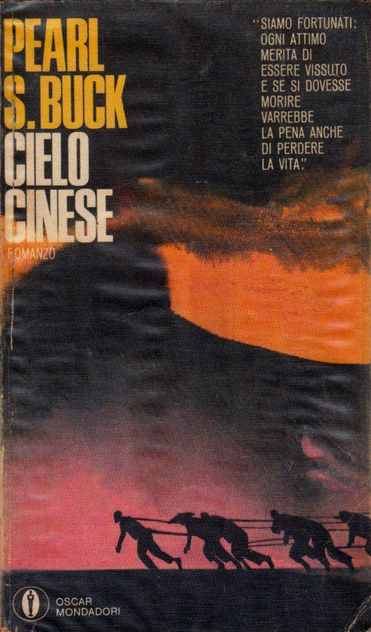 """Illustrazione di Ferenc Pintér per """"Cielo cinese"""" di Pearl S. Buck, Oscar Mondadori 1967. #Mondadori #FerencPinter"""