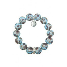 Bracelet with clay pearls from Lotta Design of Sweden