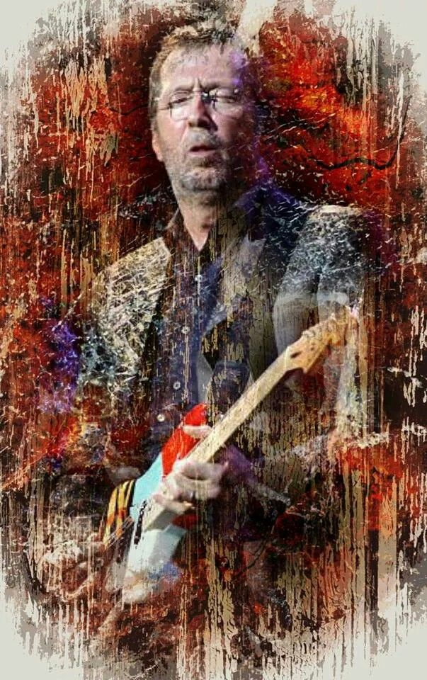 Music Artwork, Art Music, Music Artists, Rock Posters, Concert Posters, Eric Clapton, Rock Roll, Rock Band Photos, Art Deco Paintings