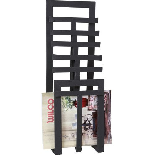 Wilco home metal magazine rack work ideas pinterest for Magazine racks for home