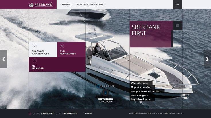 Sberbank First http://flattrendz.com/flat-design-gallery/sberbank-first/