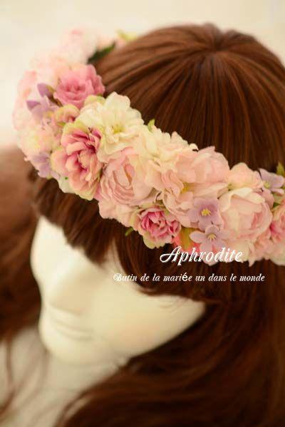 新作④ 「ピンクの花冠」