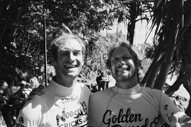 Master shaper Tom Wegener and Finless surfer Fred Branger