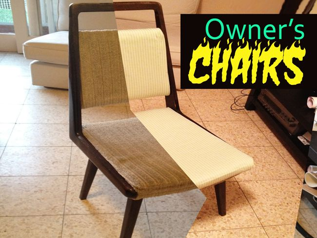 Pi#9: The owner's Furniture - The Chairs