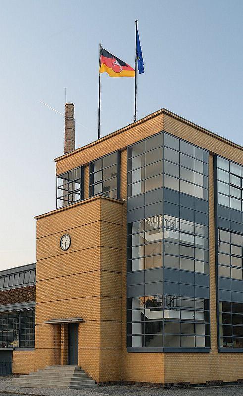 Fagus Factory by Walter Gropius.