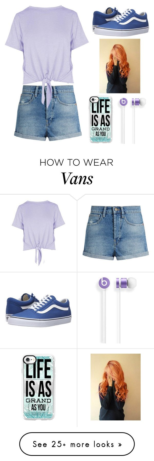 """I'll tell the world, I'll sing a song It's a better place since you came along"" by moon-and-back-babe123 on Polyvore featuring Raey, Boohoo, Vans and Casetify"
