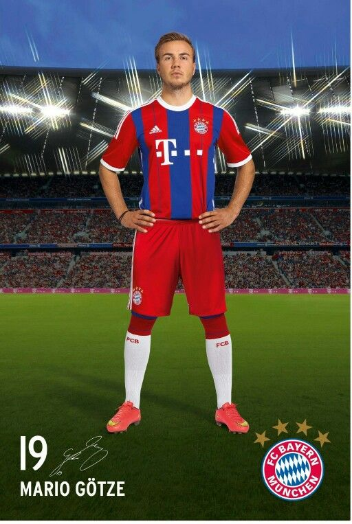Mario Götze, FC Bayern München. #FCB #MiaSanMia #Götze