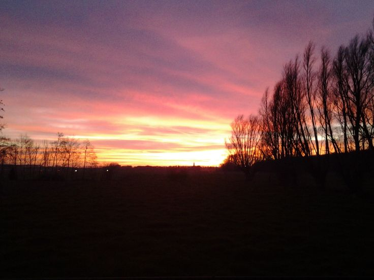 Mooie lucht in Clinge