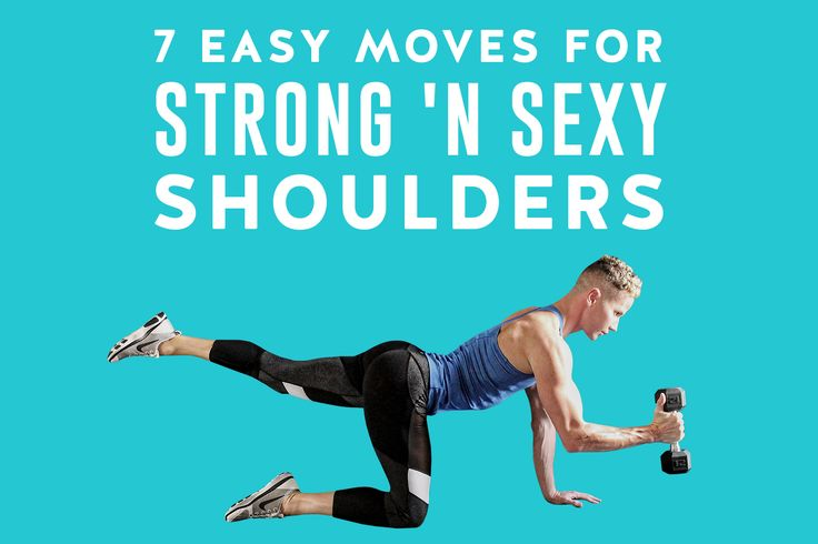 7 Easy Moves for Strong 'n Sexy Shoulders