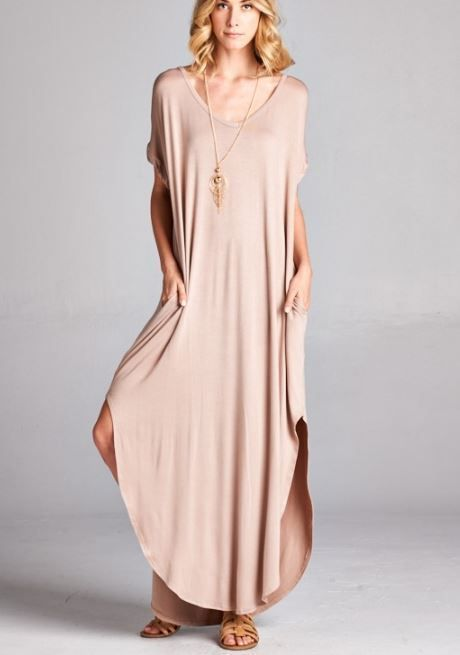 1000  ideas about Casual Maxi Dresses on Pinterest  Modest maxi ...