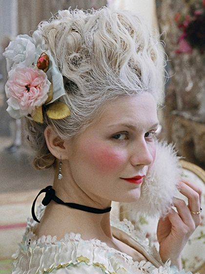 Best Movie Hair of All Time:  Marie Antoinette (2006) Kirsten Dunst as Marie Antoinette | allure.com