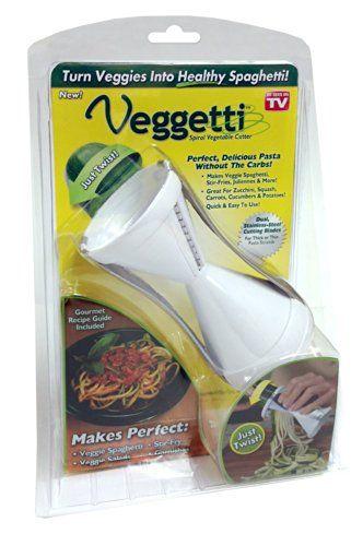 Veggetti Spiral Vegetable Cutter 2 Pa... (bestseller)