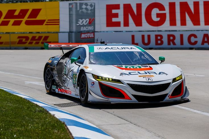 First Win for Acura NSX GT3 in International Sports Car Racing - http://trackworthy.com/first-win-acura-nsx-gt3-international-sports-car-racing/