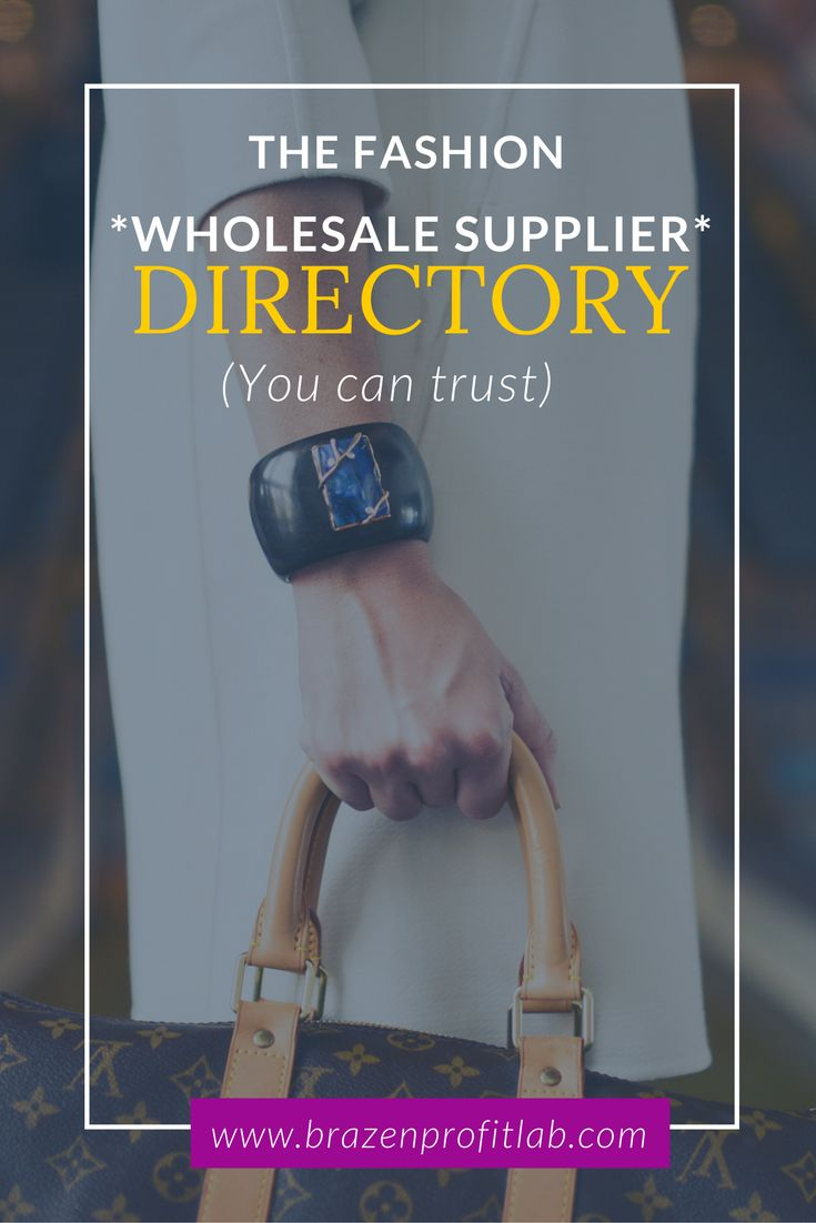 There are a lot of Fashion wholesale directories out there, but lots of them are full of junky suppliers who weren't vetted. In this post you'll find out how to find suppliers to easy way.