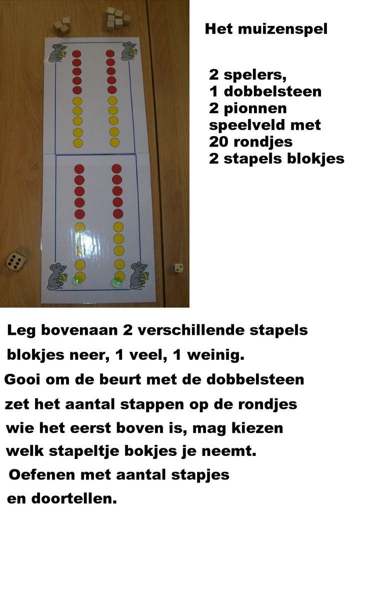 Het muizenspel - rekenverslag (kleuterwiskunde)