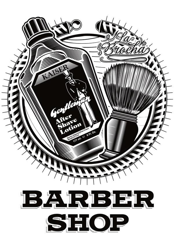 Barber Shop Plano : M?s de 1000 im?genes sobre barberia en Pinterest Plantilla de ...