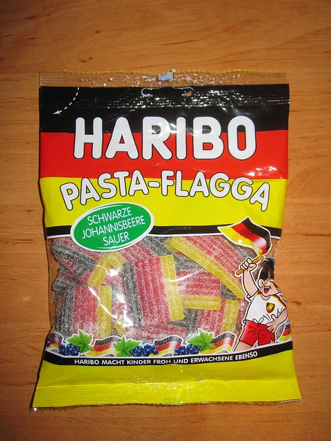 Haribo German Flag Candy