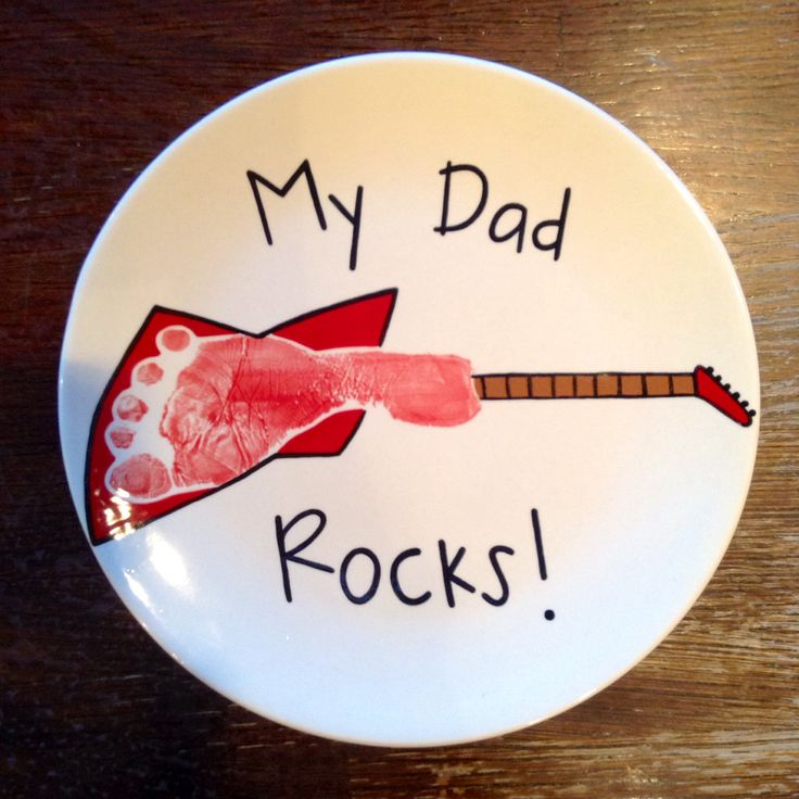 Guitar Footprint Plate | Paint Your Own Pottery | Paint Your Pot | Cary North & 125 best Handprints u0026 Footprints images on Pinterest | Handprint art ...