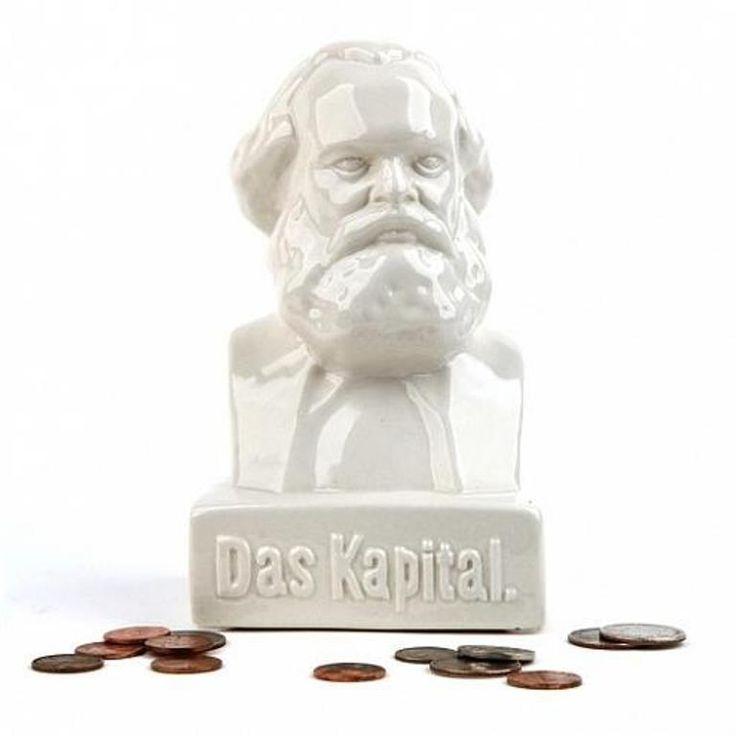 Kikkerland Karl Marx Money Bank NEU/OVP Sparbüchse Spardose NEW/OVP Bust Büste