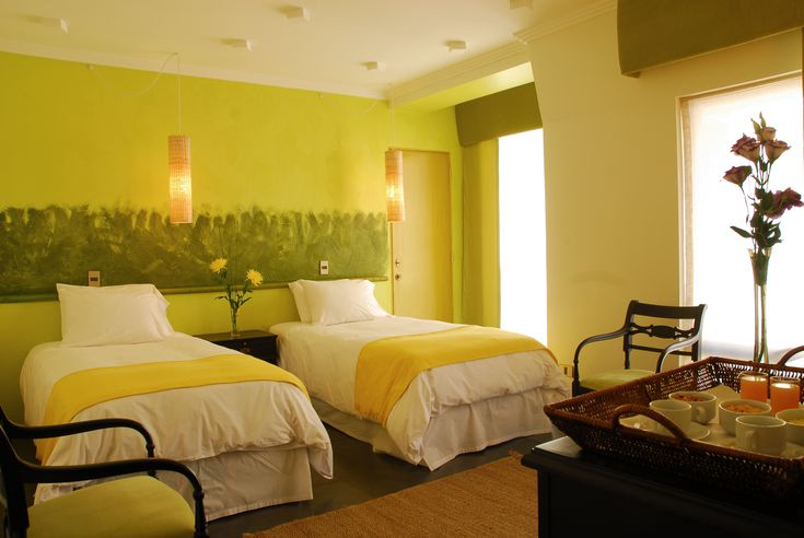 Double standard twin #Room in #Santiago #Chile. #Hotel Fundador
