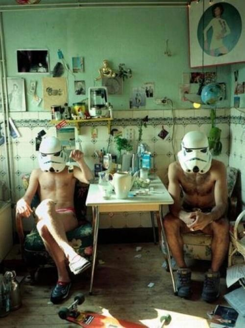 day off: Sunday Mornings, Teas Time, Storm Troopers, At Home, Casual Friday, Storms Troopers, Stars War, Stormtroopers, Starwars