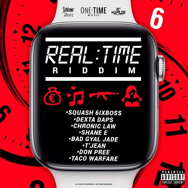 Real Time Riddim - One Time Music , 21st Hapilos,Bad Gyal