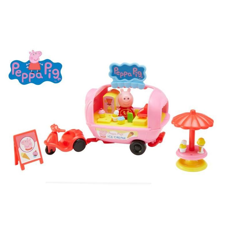 Peppa Pig Theme Park Toys Ice Cream Van Playset by Character Options