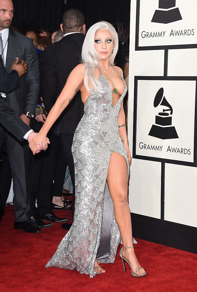 The Most Memorable Red Carpet Dresses Ever Lady Gaga Pictures Lady Gaga Photos Revealing Dresses