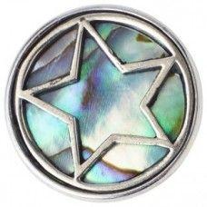 NOOSA Chunk Pentagram Abalone - Limited Edition
