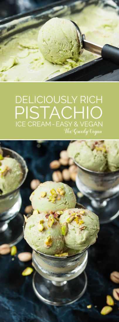 This delicious dessert is made with a generous amount of pistachio nuts that give it a rich flavour and add extra creaminess.