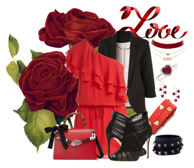 Valentine's day by lyralilith on Polyvore featuring arte