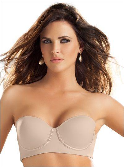 slimming strapless push up bra--MainImage