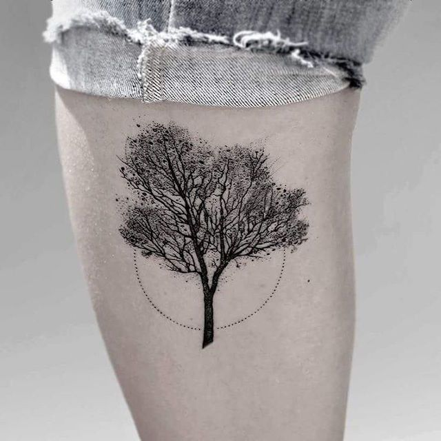 Argentina-based tattoo artist Luciano Del Fabro uses a minimalist aesthetic to depict the beauty of the natural world. Carefully etched animals, trees, and
