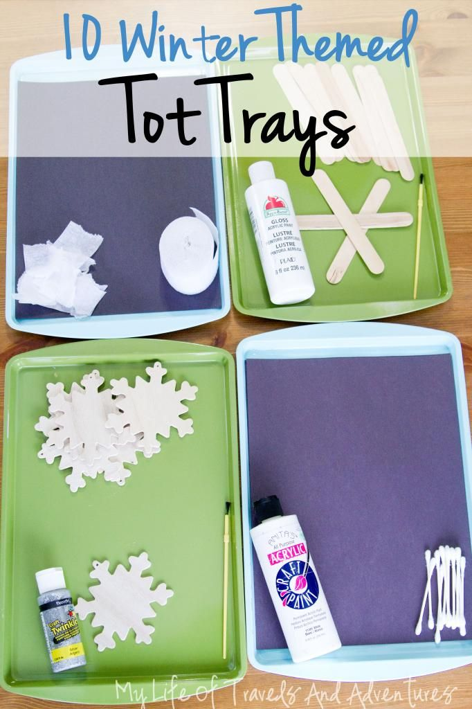 My Life of Travels and Adventures: Winter Themed Tot School