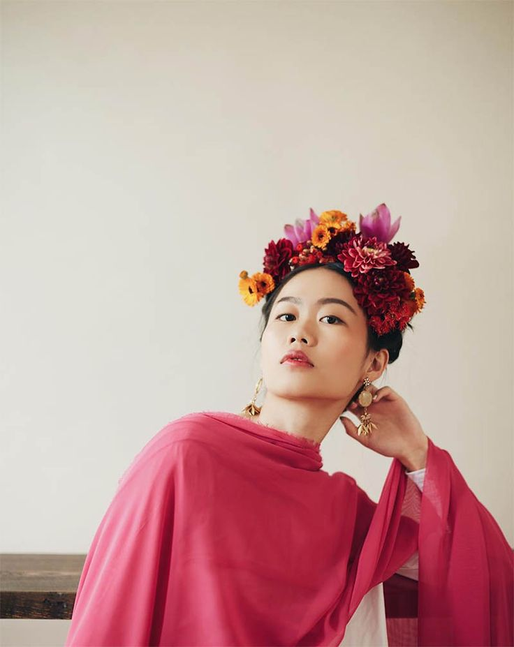 Floral Portraits + Best of the Web – Design*Sponge
