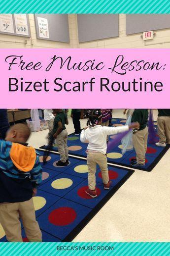 Free Music Lesson: Bizet Scarf Routine