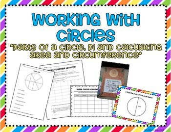 Pi Day Activities and Interactive Notebook Pages