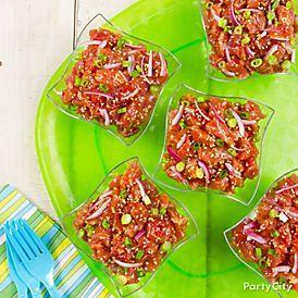 Tuna Poke Recipe - Party City