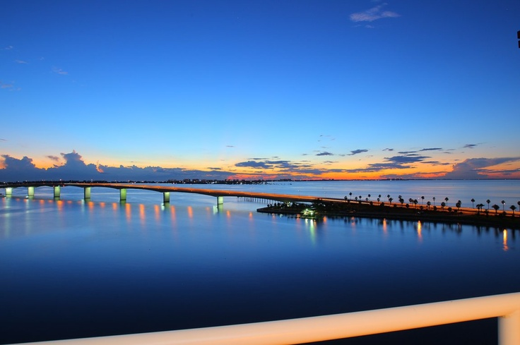 in 2 months this will be my commute to work!!!  John Ringling Bridge Sarasota, FL