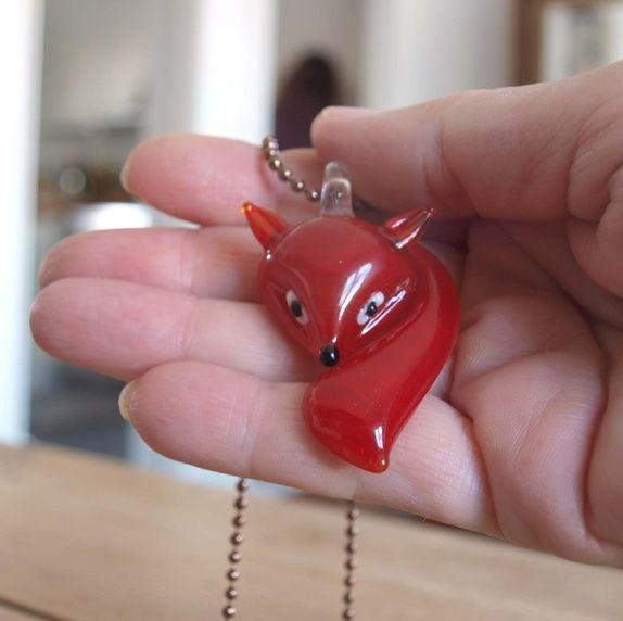 Rød Rev - smykke